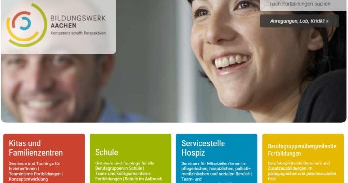 Referenz Bildungswerk Aachen